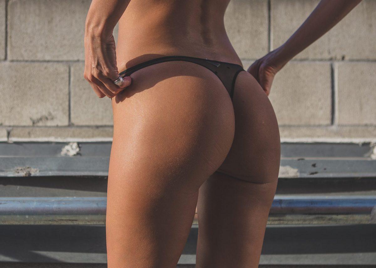 lookseri celeste black thong