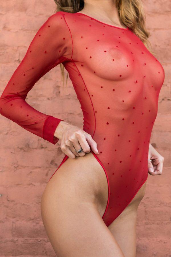 CELESTE in rouge