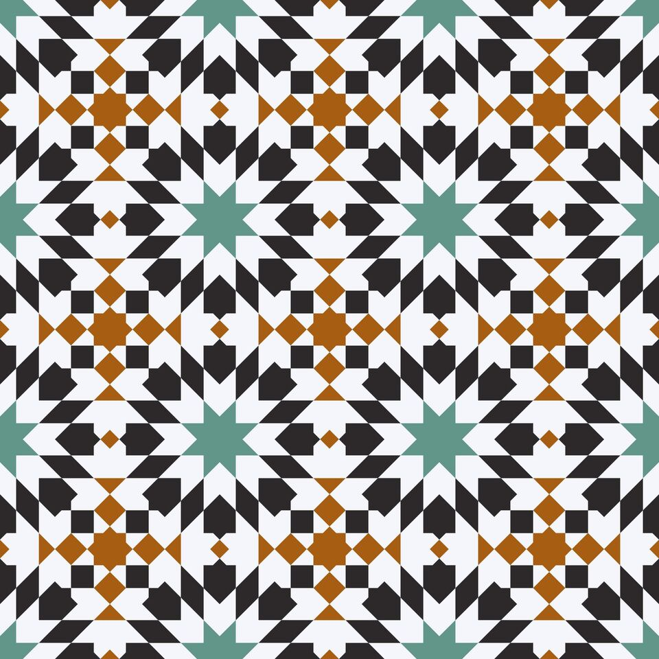 ZARA savannah moroccan tile 4